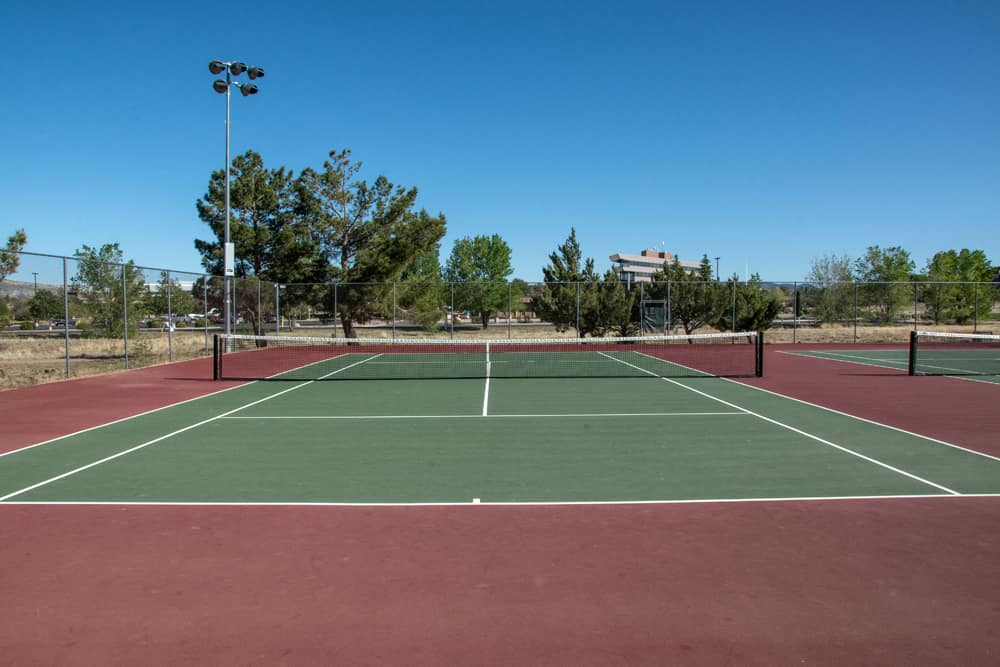 the prescott tennis courts