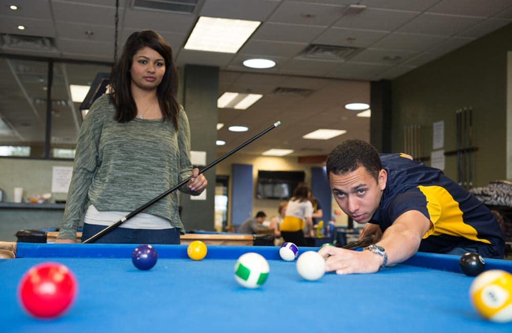 students in the Jack R. Hunt Student Union