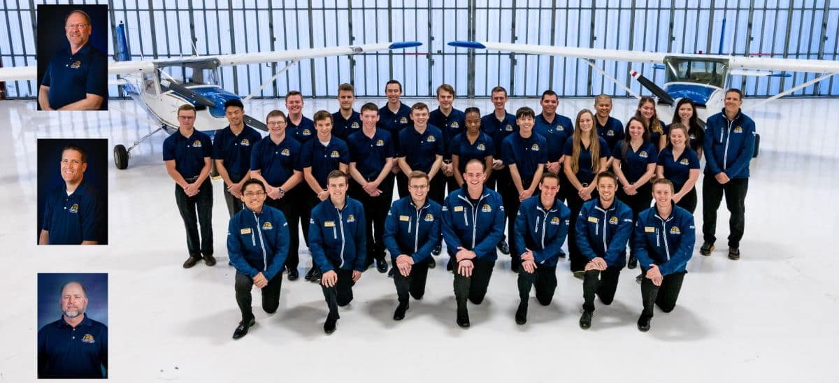 The 2019 Golden Eagles Flight Team