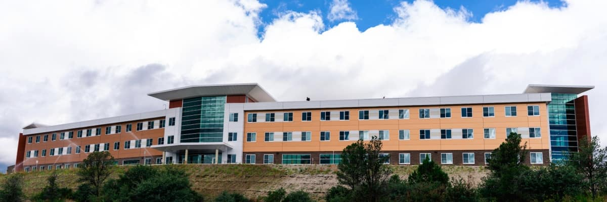 Students enjoy the brand new T-2 Residence Hall