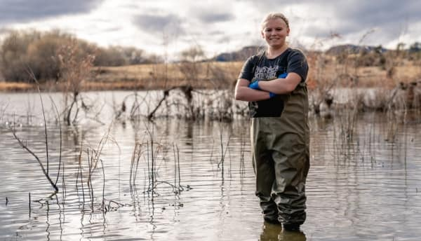Undergraduate Student Helps New Biological Research Method in AZ Waters