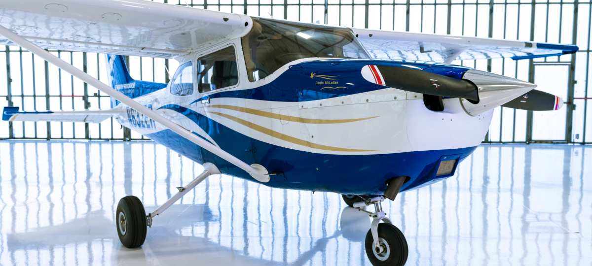 A Cessna 172 Aircraft is just one of the many impressive aircraft among Embry-Riddle Prescott Campus' fleet and flight simulators