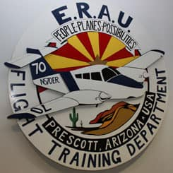 Logo for Embry-Riddle Prescott Flight Department