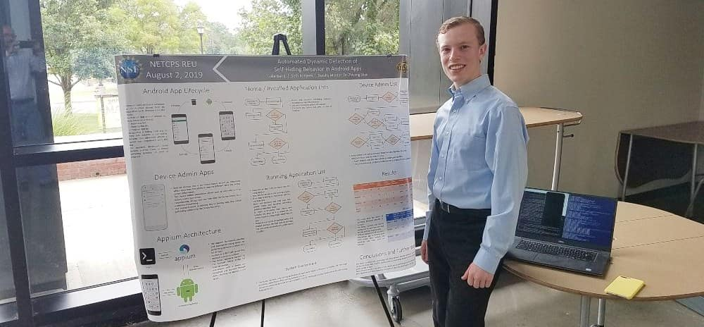 Student Luke Baird's REU Experience at Wichita State University for Electrical Engineering