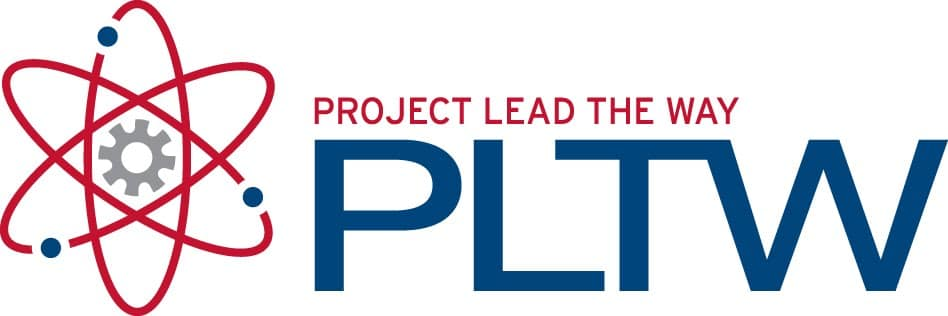Project lead the Way airplane logo