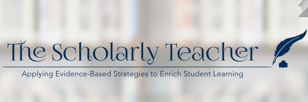 scholarly teacher logo