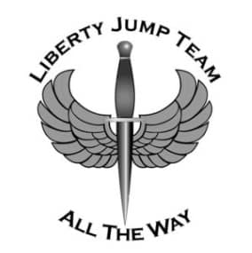 The Liberty Jump Team at the Wings Out West Airshow