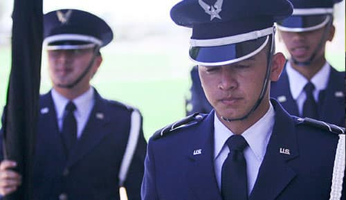 air force rotc members