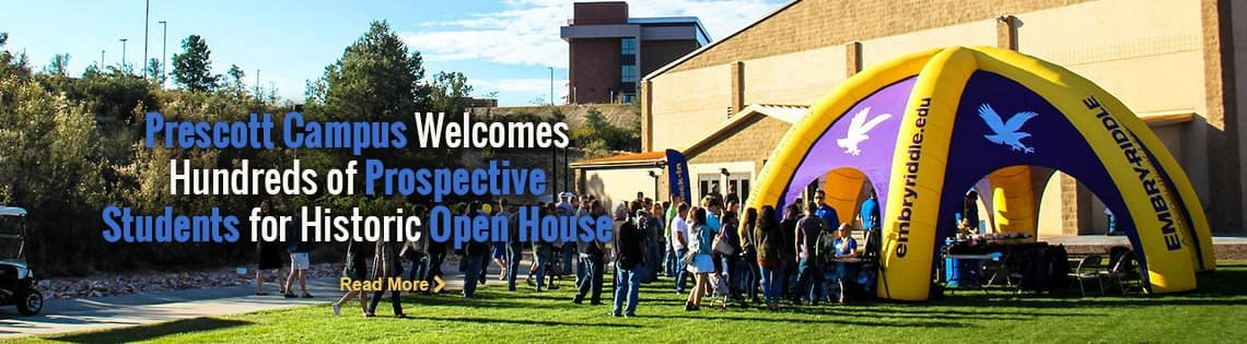 Prescott Campus Welcomes Hundreds of Prospective Students for Historic Open House