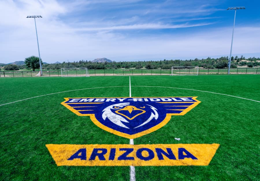 Embry-Riddle's new turf field