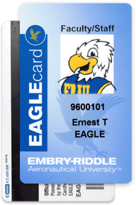 An example of an EAGLEcard