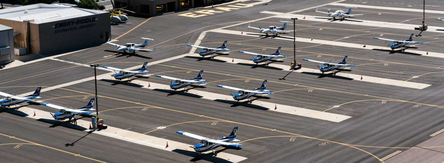 Embry-Riddle Prescott Campus' Aircraft Fleet