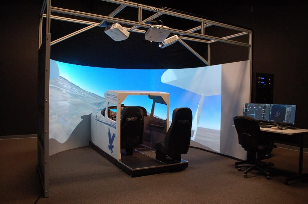 Advanced Flight Training Device: Fasca C172S TruFlite AATD Simulator