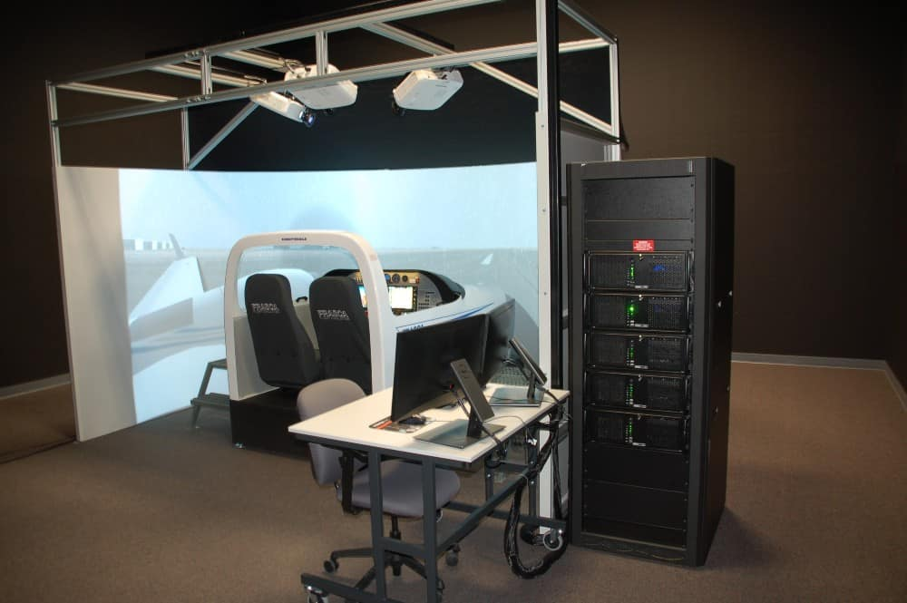 Advanced Flight Training Device: Frasca DA42-VI TruFlite AATD Simulator