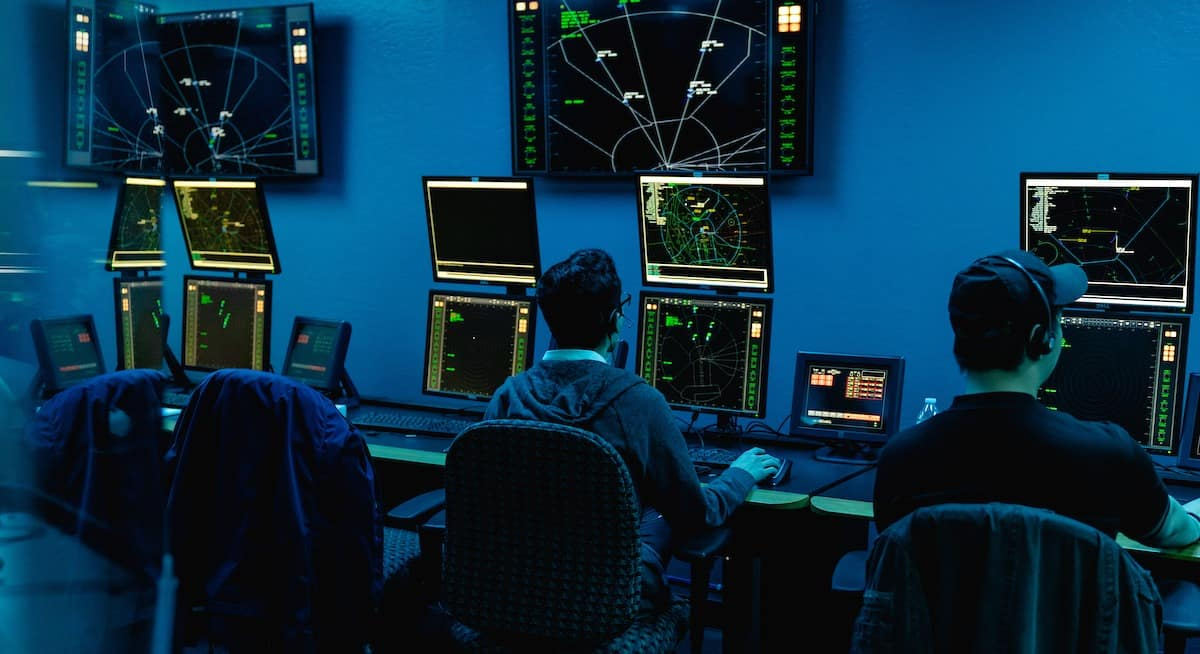 Air Traffic Control Lab equipment