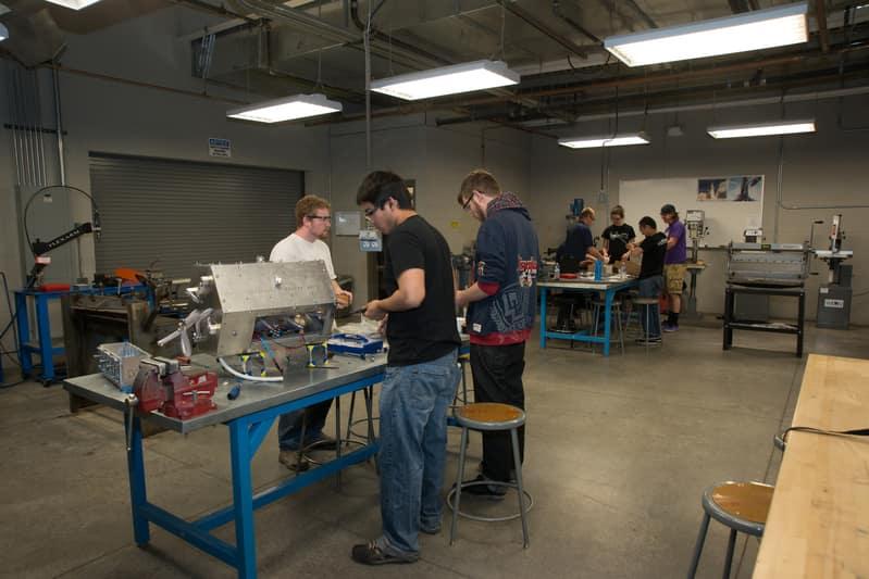 astrodynamics fabrication lab