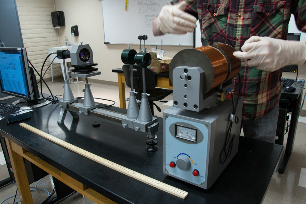 Modern Physics and Optics Lab