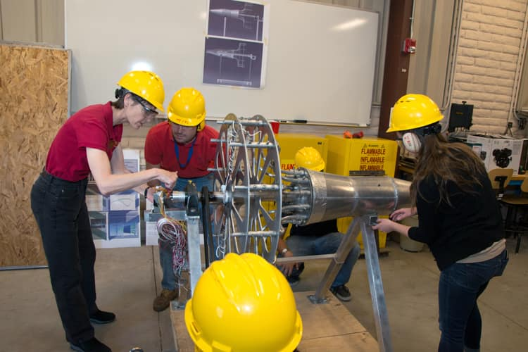 Propulsion Laboratory Rocket Test Complex Embry Riddle Aeronautical University Daytona Beach Fl