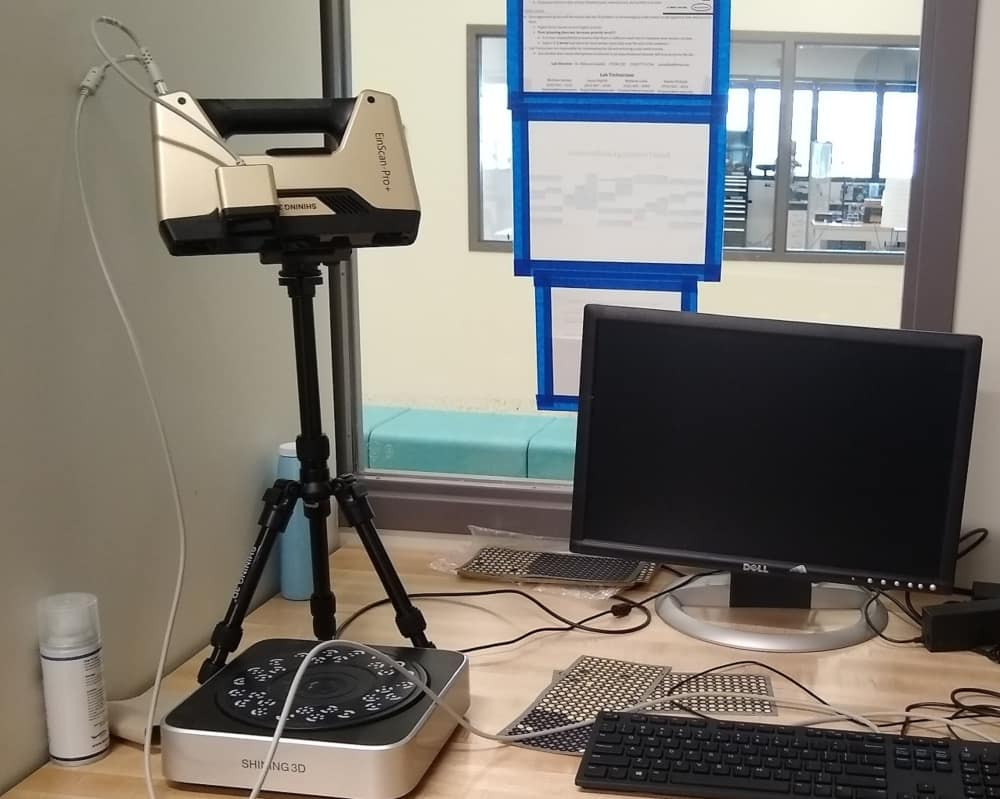 The Rapid Prototyping Laboratory's 3D Scanner