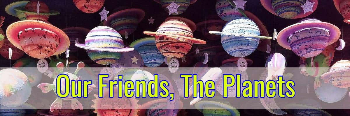 The Jim and Linda Lee Planetarium Presents: Our Friends, The Planets